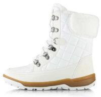 Fehér női hótalp Alpine Pro GERAINA szőrmével