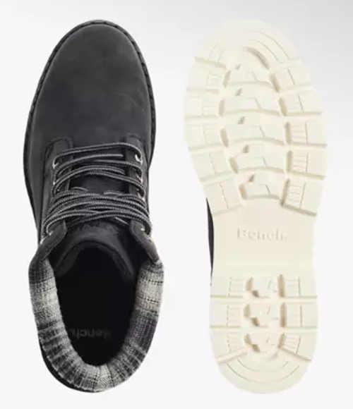 Séta férfi téli cipő Deichmann akció