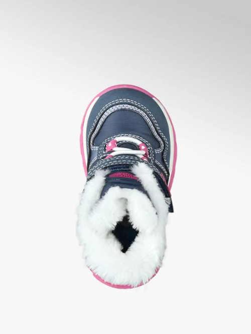 Kék és rózsaszín gyermekcipő