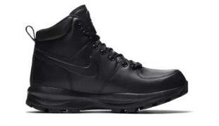 Nike bokacsizma fekete színben
