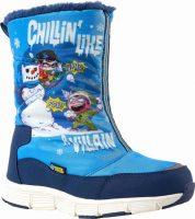 Gyermek minőségi téli cipő Warner Brothers CHILLIN HIGH vidám nyomtatással